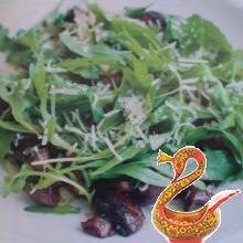 Салат из грибов с сельдереем