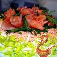 Рецепт рыбы под шубой по царски