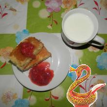Манник на молоке фото рецепт
