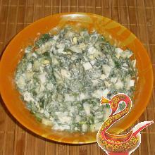 Зеленый салат рецепт с фото