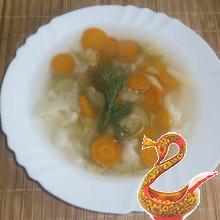 Овощной суп с кабачками