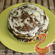 Как готовить печеночный торт