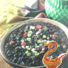 Черная фасоль по-кубински
