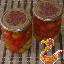 Маринованные помидоры черри