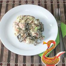 Как сделать салат из морской капусты