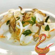 Салат с каракатицей