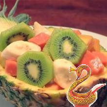 Салаты из экзотических фруктов