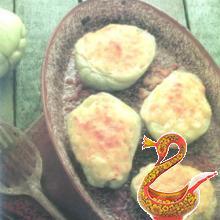 Запеченный кристофен или кабачок