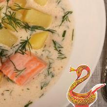 Армянский суп с форелью