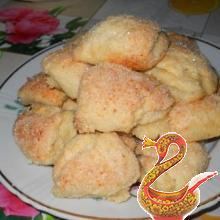 рецепт творожного печенья гусиные лапки