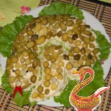 Салат Змеечка