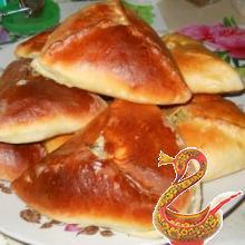 Конвертики по-татарски (с мясом и картошкой)