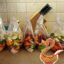 Как сохранить свежими фрукты и овощи.