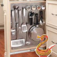 Хранилище: потайные места на Вашей кухне