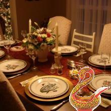 Декорируем праздничный стол