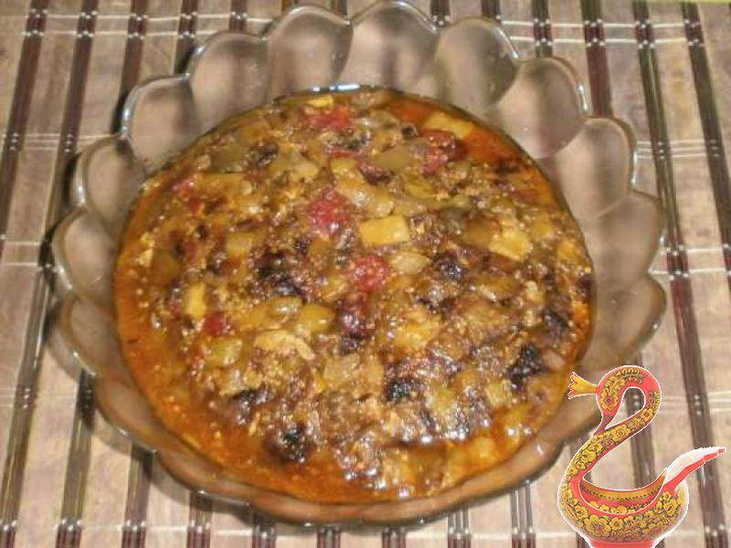 Рататуй на сковороде рецепт с фото пошагово