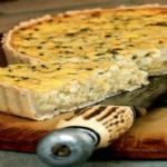 Луковый пирог рецепт с сыром
