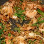 Жареные креветки с тамариндом