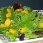Манго и мята – идеальное сочетание в салате
