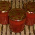 Острый перец в томате на зиму