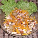 Салат с колбасным сыром рецепт
