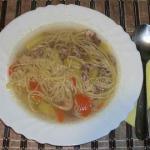 Суп из фазана рецепт