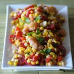Разноцветный салат
