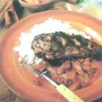 Курица вяленая по-ямайски