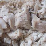 Тушеное куриное филе